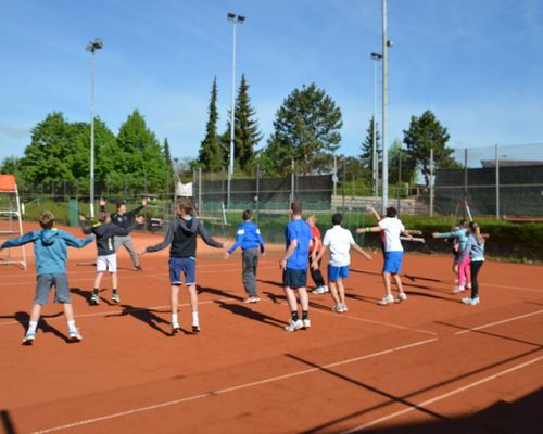 Jugend-Tenniscamp in Oeffingen