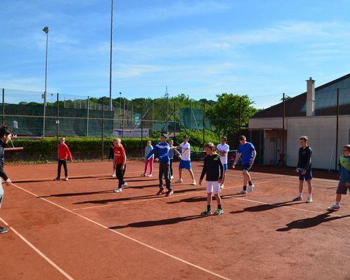Anmeldung Tennistraining - Sommer 2019
